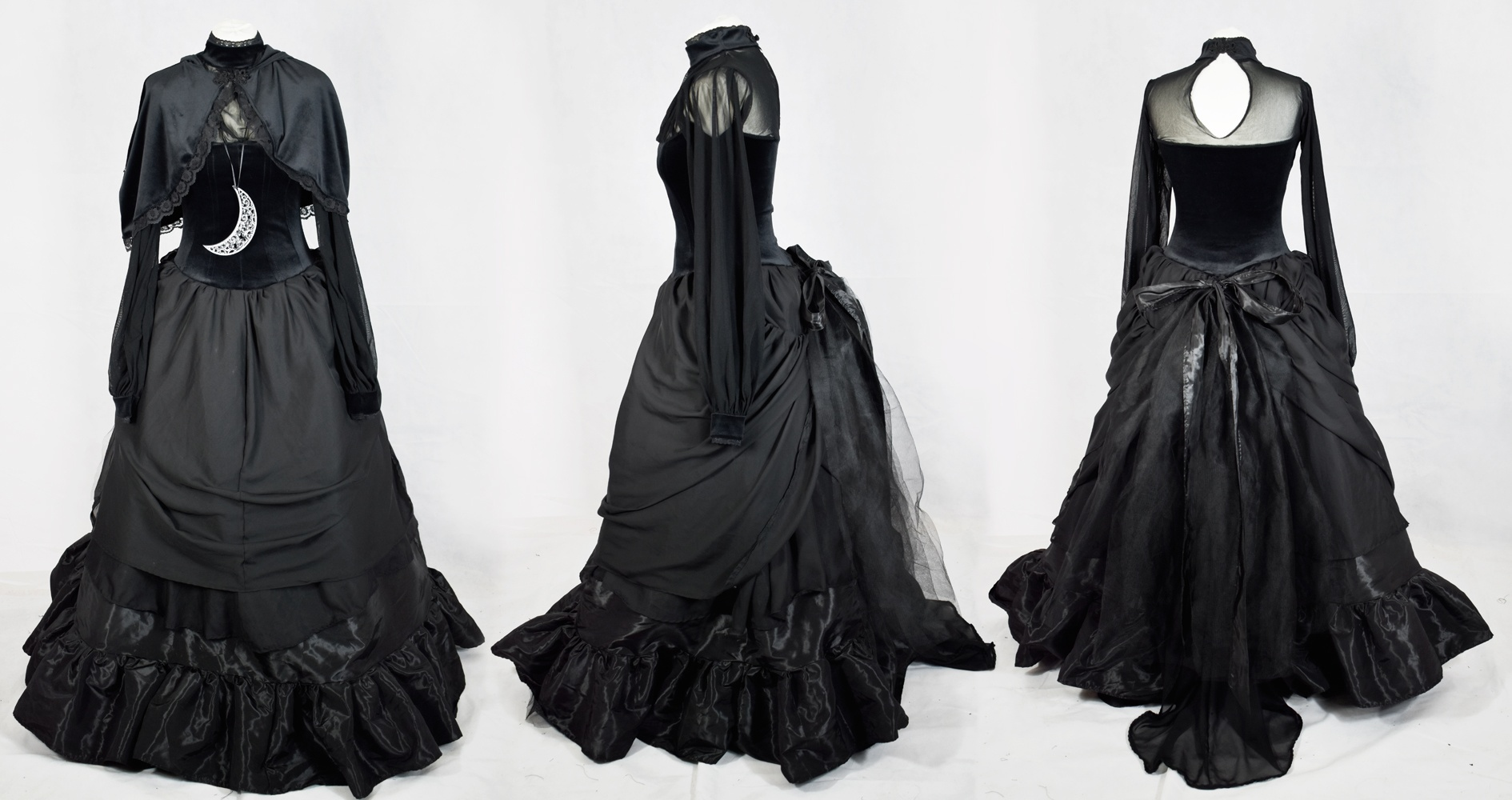 The epic Bavmorda Bustle Gown...