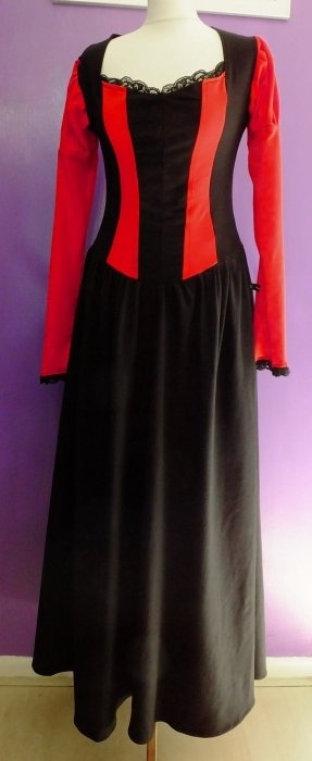 Black'n'Red Black Alyss Dress