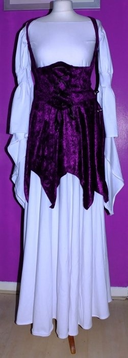 White and Purple Witchy Ensemble