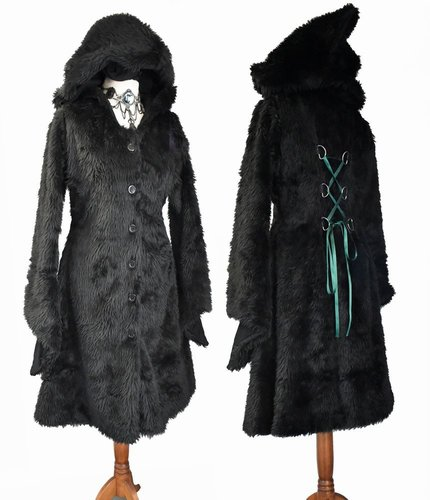 Custom Knee Length Furrywydan II Coat