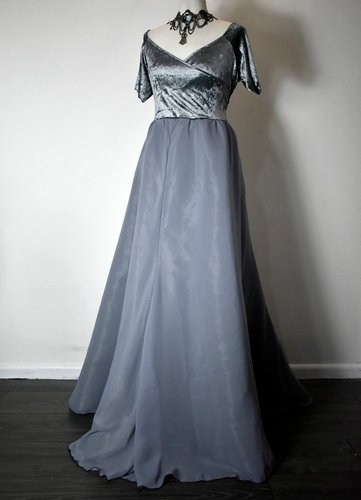 Custom Grey Lady Gown