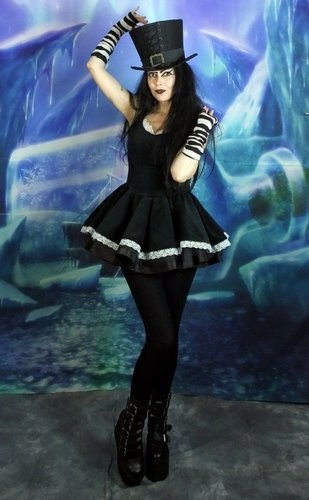 Floaty Alice Minidress