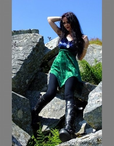 Eloweena Witch Minidress