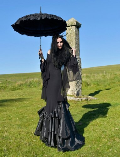Vale of Tears Batwing Gown