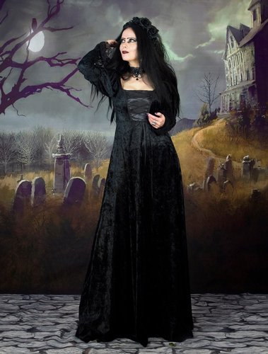 Vampire Betrothal Gown