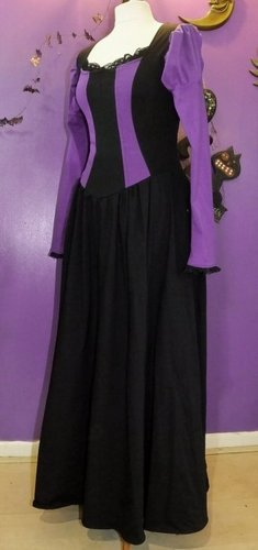 Black'n'Purple Black Alyss Dress