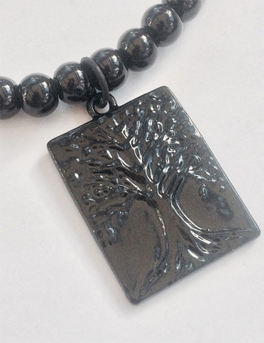 My Beautiful Gothic Tree Of Night Choker Necklace