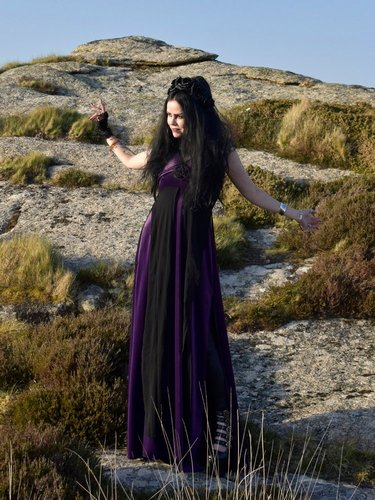 Pentagram Witch Dress